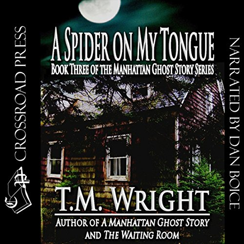 A Spider on My Tongue audiobook cover art