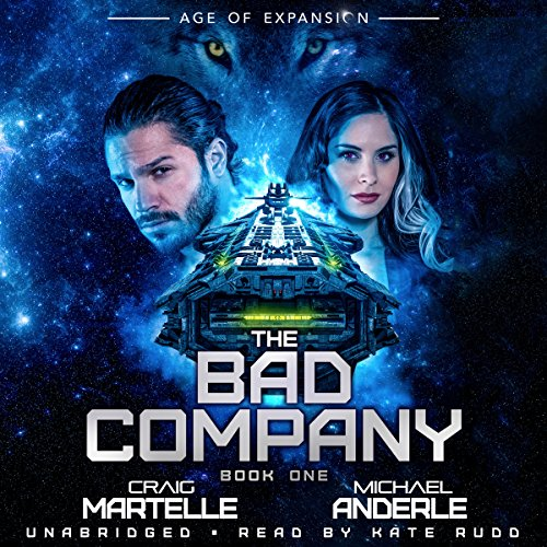 The Bad Company     Age of Expansion - A Kurtherian Gambit Series, Book 1              Autor:                                                                                                                                 Craig Martelle,                                                                                        Michael Anderle                               Sprecher:                                                                                                                                 Kate Rudd                      Spieldauer: 6 Std. und 42 Min.     1 Bewertung     Gesamt 5,0
