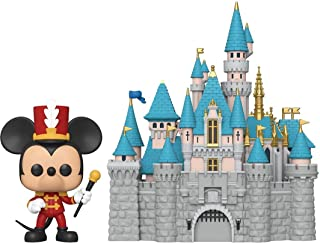 Funko Pop! Ciudad: Disney 65th - Castillo de Disney con Mickey, 6""