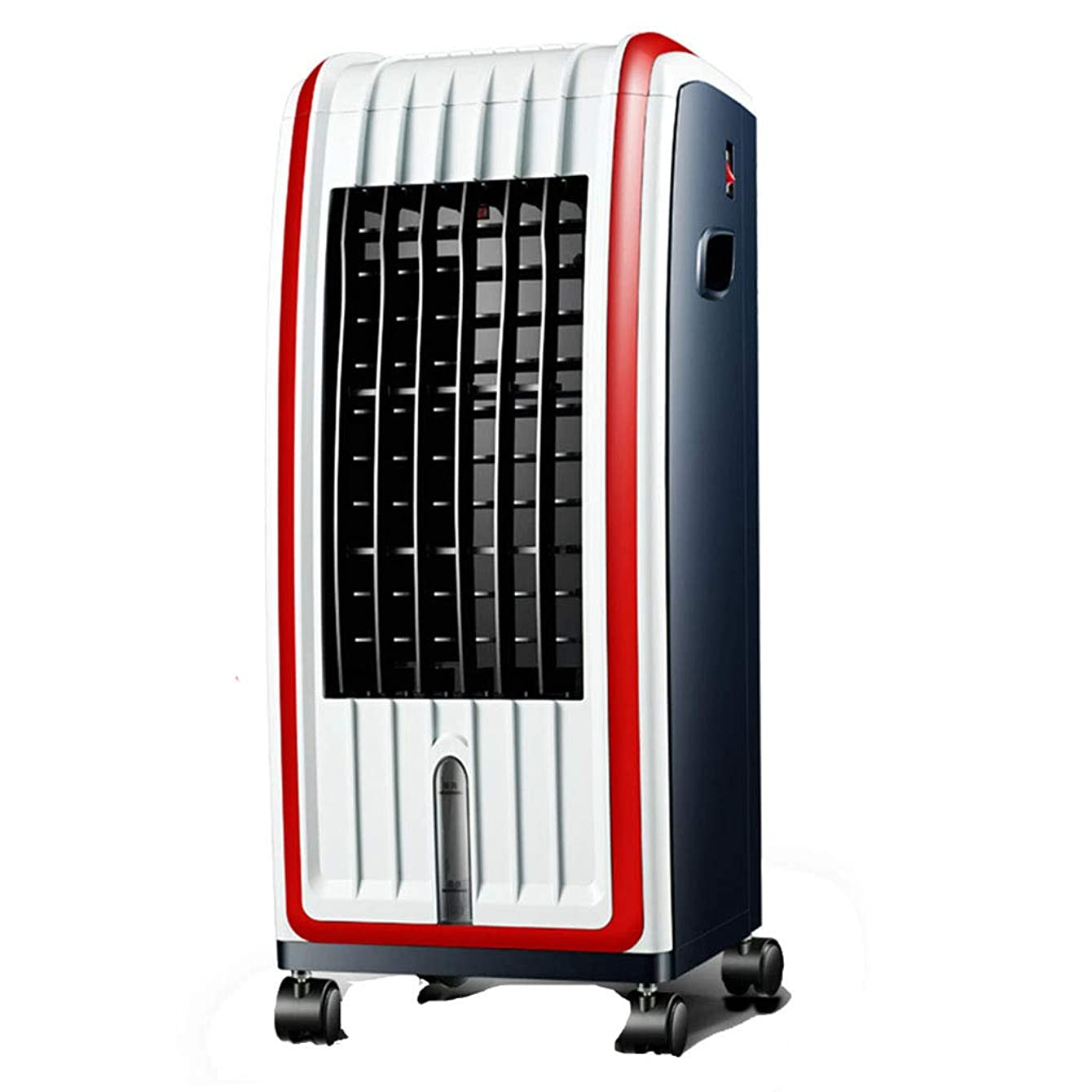 DOOST Air Cooler, Portable evaporative air Cooler with Fan and humidifier leafless Silent Fan with Remote Control for Indoor Home Office dorms