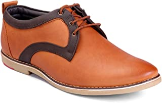 Levanse New Tan Color Designer Leather Corporate Casuals Shoes for Men/Boys