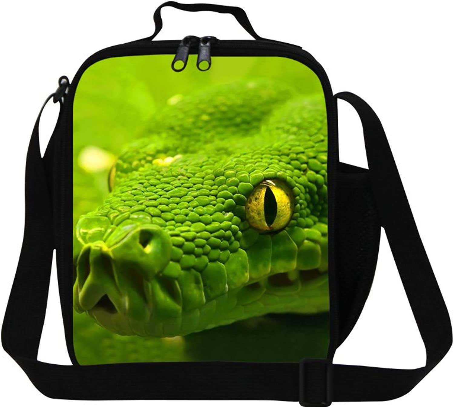 CrazyTravel Picnic Lunch Bag With Water Pocket for School Boy Girl Adult Working Outdoor