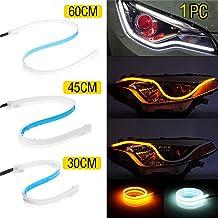 Jaune Feux de Circulation diurnes LED pour r/étroviseur de Voiture 15/cm