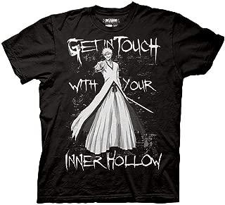 Bleach Adult Unisex Your Inner Hollow Heavy Weight 100% Cotton Crew T-Shirt