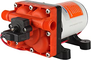 SEAFLO 42-Series Water Pressure Diaphragm Pump w/Variable Flow For Reduced Cycling..