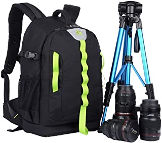 YuHan Oxford stor kapacitet professionell Dslr/SLR ryggsäck kamera ryggsäck multifunktionell vattentät anti-chock pryl kam...