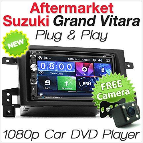 tunez 7 pulgadas Double Din Reproductor de DVD Radio estéreo para Suzuki...