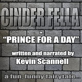 Cinder Fella audiobook cover art