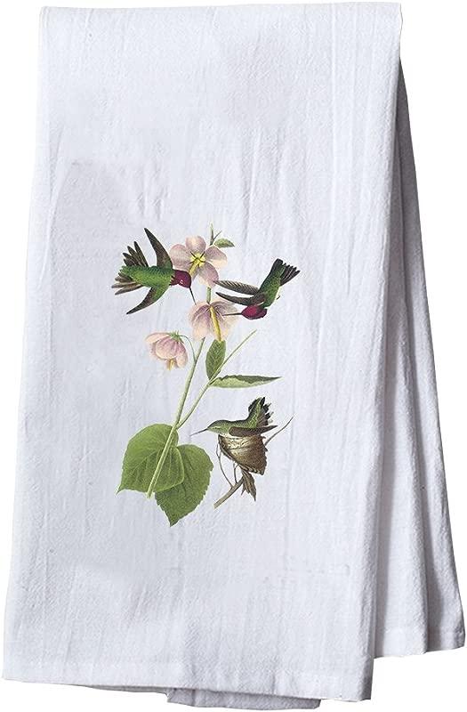 Style In Print Anna S Hummingbird James Audubon Birds Dish Flour Sack Kitchen Towel