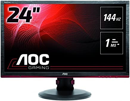 AOC G2460PF 24 Inch Full HD LED Gaming Monitor PC Computer Screen Black (Renewed)