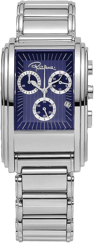 Roberto cavalli `eson`, orologio,cronografo da uomo,in acciaio inossidabile R7253955035
