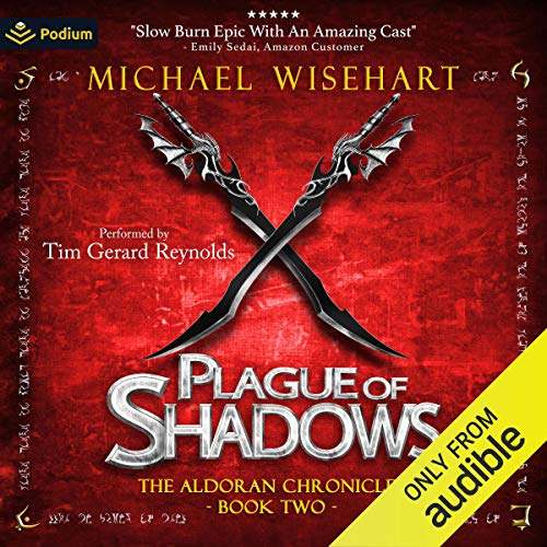 Plague of Shadows Audiobook By Michael Wisehart cover art