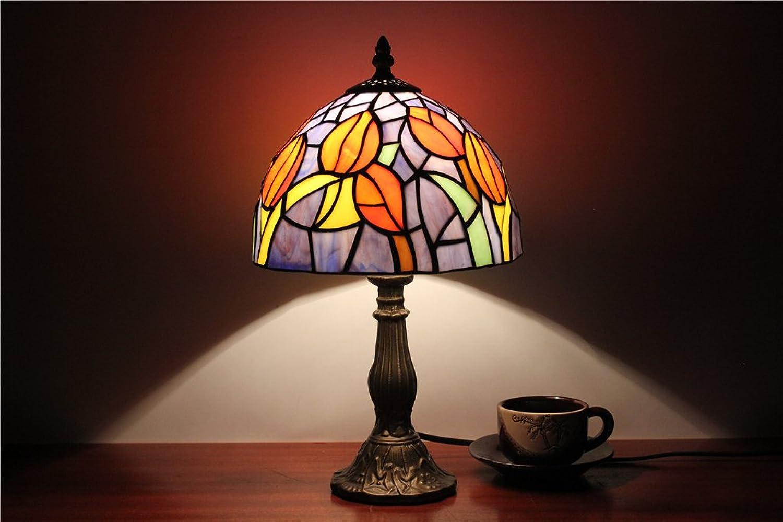 MEHE HOME-8-Zoll-Continental Cafe einfache Nachtlicht-Lampe warmes Student Tischlampe B01FVP8HAI | Lebendige Form