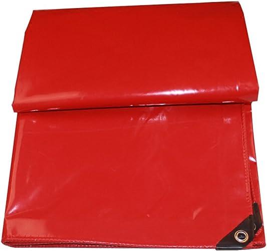 MDBLYJAuvent Pare Soleil et Tissu Froid Bache imperméable à l'eau, bache de Prougeection extérieure de bache de Prougeection Contre la poussière Anti-oxydation résistante à l'usure, Rouge