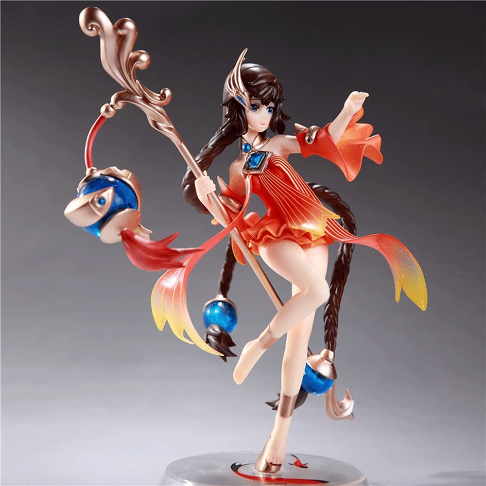 WANGCH Game Peripheral King Daqiao Model High order favorite Otaku Battle Figure Dec