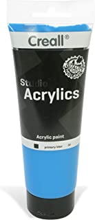 American Educational Products A-33630 Creall Studio Acrylics Tube, 250 mL, 30 Primary Blue