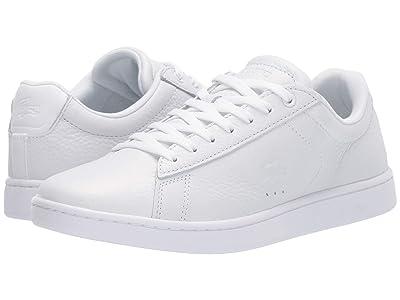Lacoste Carnaby Evo 319 1 (White/White) Women