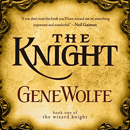 The Knight audiobook cover art
