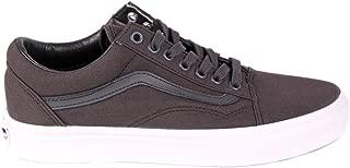 Off The Wall Old Skool Mono Canvas Sneakers (Asphalt) Skateboarding Shoes