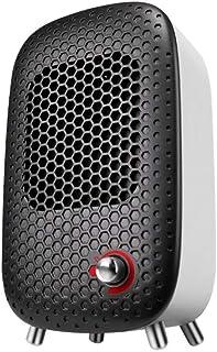 ZHHL Calefactor De Ventilador, Radiadores Personales Portátiles Table Mini PTC Ceramic Heater Overeat Heat Protection