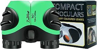 Luwint 8 X 21 Kids Binoculars for Bird Watching, Wildlife Nature Scenery, Game, Safari, Fishing, Mini Compact Image Stabil...