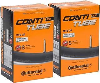 2本セット Continental(コンチネンタル) チューブ MTB26 S42 26×1.75-2.5(仏式バルブ42mm) [並行輸入品]