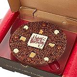 Gourmet Schokolade Pizza. Belgische Schokolade Pizza 7' - Happy Birthday