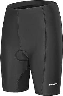Spotti Women's Cycling Bike Shorts 3D Padded Road Biking Bicycle Riding Pants with Zipper Pocket