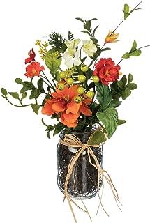 Sullivans Artificial Premade Wildflower Arrangement in Glass Jar, 14