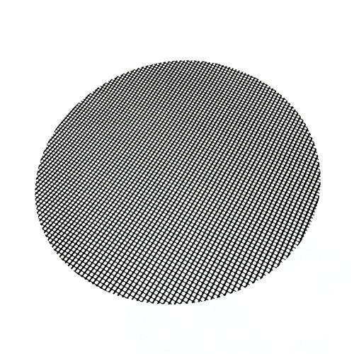 BESTonZON 40cm Antihaft-runde Grill-Grill-Matten Wiederverwendbare Ofen-Matte BBQ-Maschen-Auflage