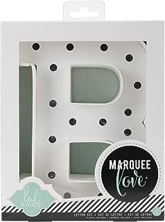 Heidi Swapp Marquee Love Led Letras B, Papel, Blanco, 21.6x5.6x21.6 cm
