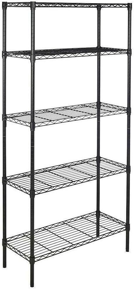 ZeoTioo 5 Tier 72x36x14 Wire Rack Unit Price reduction Metal Shelf Jacksonville Mall Garage Kitche