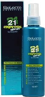 Salerm Cosmetics 21 Express Spray -All-in-one Silk Protein 150 Ml/5.04oz