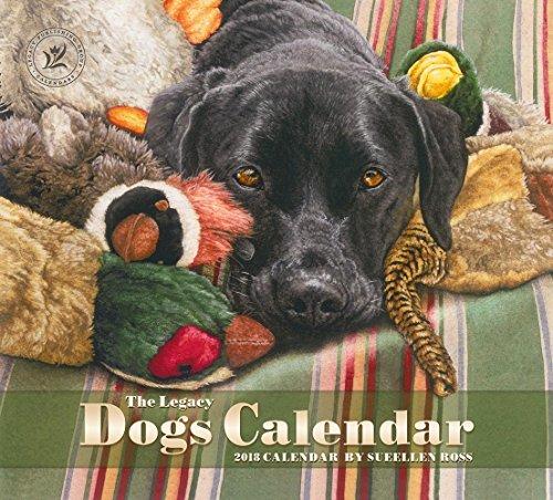 Legacy Publishing Group 2018 12-Month Wall Calendar, Dogs Calendar