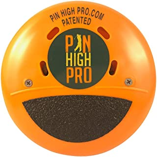 Pin High Pro Pocket Golf Training Aid for Consistent Weight Shift During Downswing/Golf Swing Trainer - Perfect for Swing Drills - Made in The USA