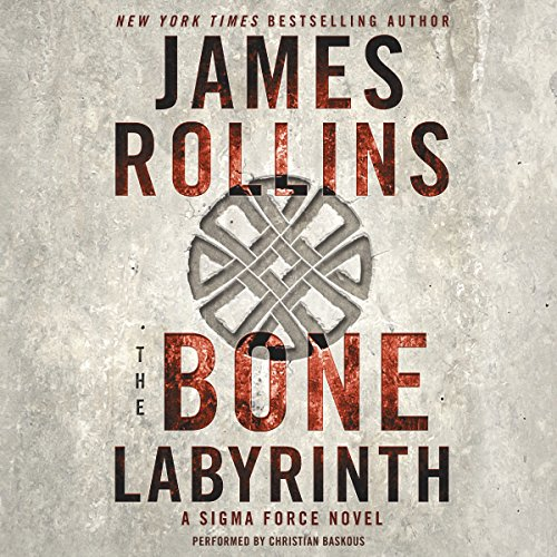 The Bone Labyrinth audiobook cover art