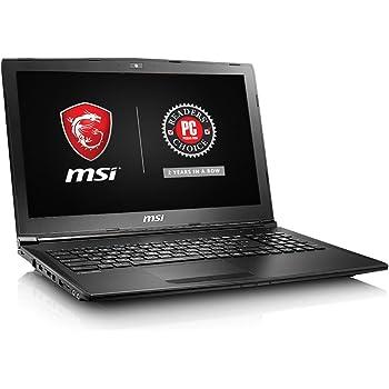 "MSI GL62M 7RD-1407 15.6"" Full HD Thin and Light Performance Gaming Laptop i5-7300HQ GTX 1050 2G 8GB 256GB SSD Win10 SteelSeries Keys,Black"