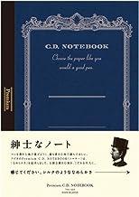 Apica Premium C.D. Notebook - A5-7 mm Rule - 96 Sheets