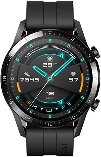 HUAWEI Watch GT 2, 2 Week Battery Life, 15 Workout Modes & Full-time Fitness Trainer, 46mm - Matte Black