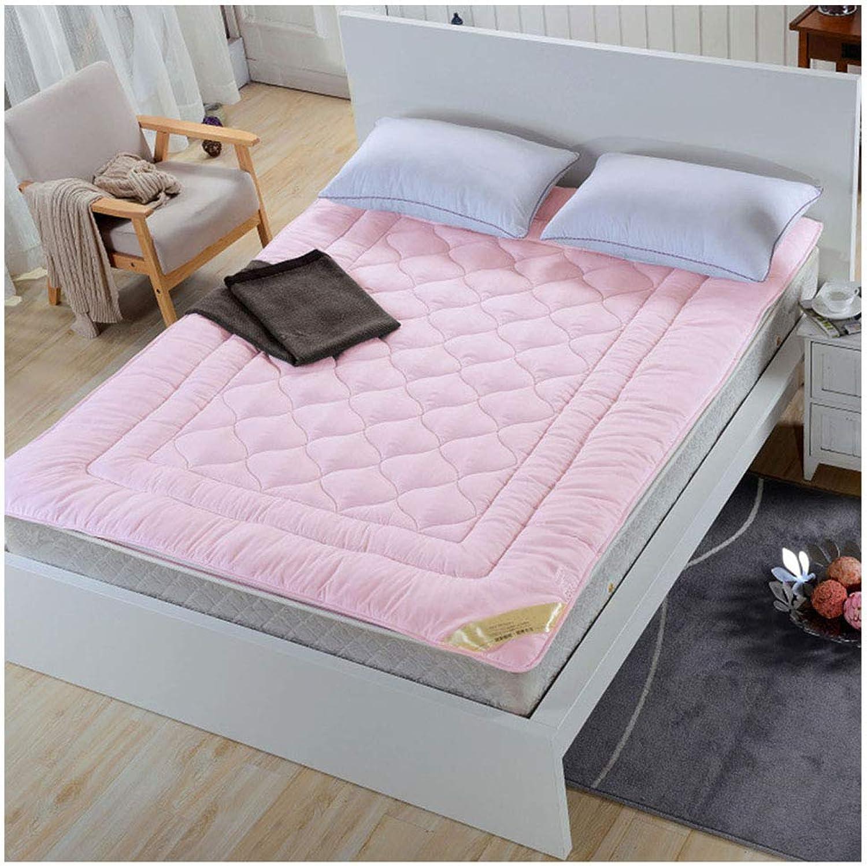 Solid color Folding Bed Mattress, 4 Seasons Universal Quilted Tatami Floor Mattress Pad Mat Hotel Bedroom Cotton Futon Mattresses -A 150x200 cm (59x78 Inch),B,200x220cm