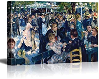 YEHO Art Gallery Canvas Prints Wall Art Oil Paintings Wall Decor for Livingroom Bedroom Office Bal du Moulin de la Galette by Pierre Auguste Renoir Giclee Artwork 12