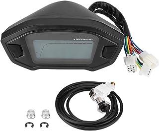 Odómetro del velocímetro del velocímetro del tacómetro del MPM del tacómetro de la motocicleta universal del LCD Digital universal con el sensor de velocidad