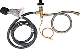MENSI Propane Fire Pit/Fireplace Parts Gas Control Valve System