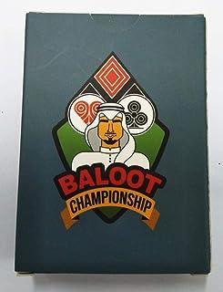 Baloot Championship Playing Cards