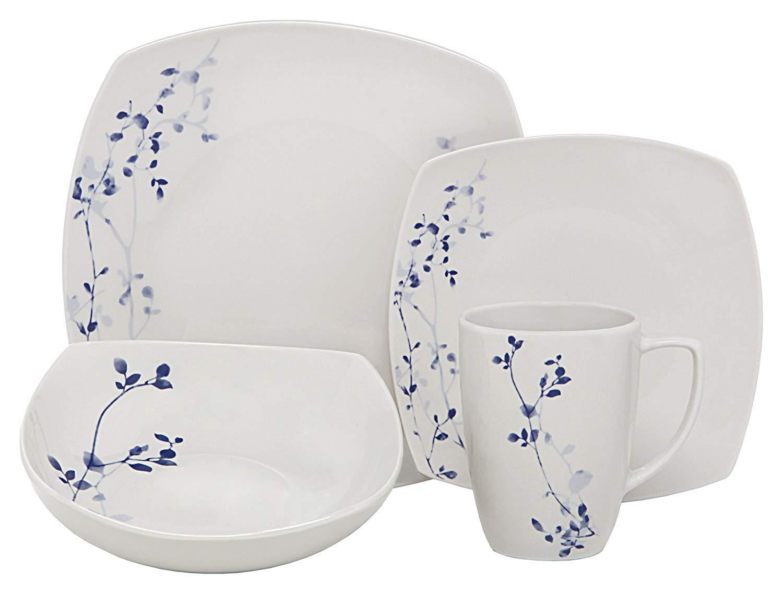 Melange Porcelain Service Microwave Dishwasher