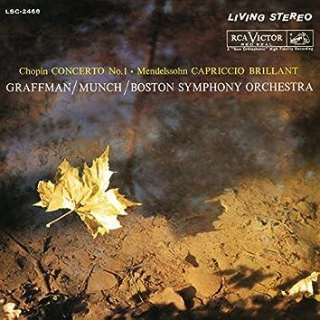 Chopin: Piano Concerto No. 1 In E Minor, Op. 11/Mendelssohn: Capriccio Brillant In B Minor For Piano And Orchestra, Op. 22