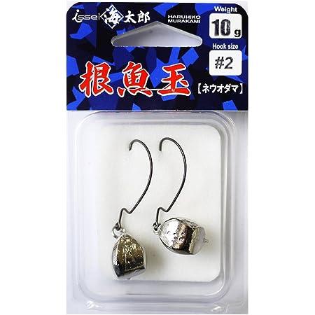 イッセイ海太郎(Issei Umitaro) ジグヘッド 根魚玉 10g #2.