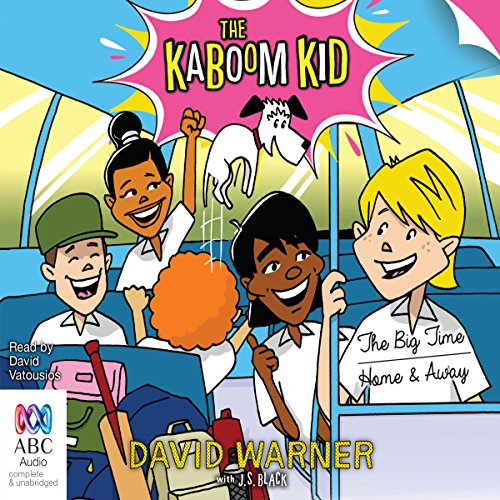 The Kaboom Kid audiobook cover art