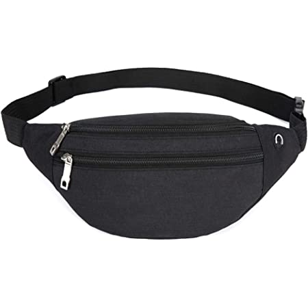 YUNGHE Fanny Pack for Men & Women - Waterproof Waist Bag Pack with Adjustable Strap for Travel Sports Running.