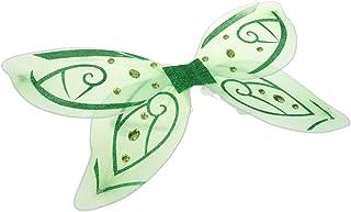 【ノーブランド品】 全2色 チュール 結晶 蝶 天使 妖精の羽 子供 パーティー 仮装 コスプレ - 緑色